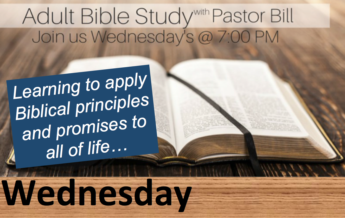 Bible Study with Pastor Bill @ Journey By Grace | Belle Vernon | Pennsylvania | United States