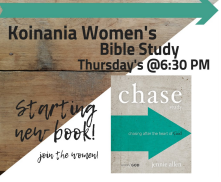 Koinania Ladies Bible Study @ Journey By Grace | Belle Vernon | Pennsylvania | United States