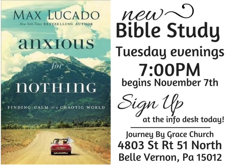 Ladies Bible Study @ Journey By Grace | Belle Vernon | Pennsylvania | United States
