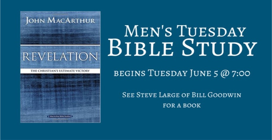 Men's Bible Study @ Journey By Grace | Belle Vernon | Pennsylvania | United States