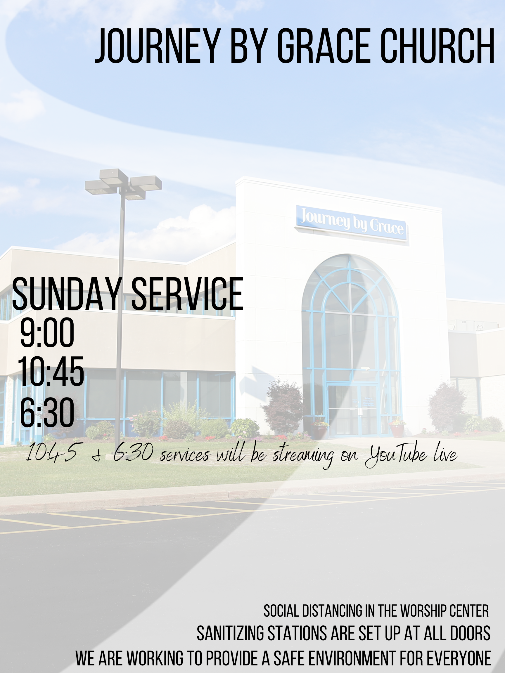 First Service @ Journey By Grace | Belle Vernon | Pennsylvania | United States